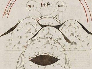 【人類の未来が地図で描かれた15世紀の「奇書」が発見される!1651年が地球最期の日?
