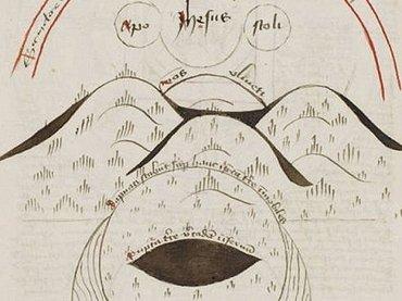 人類の未来が地図で描かれた15世紀の「奇書」が発見される!1651年が地球最期の日?