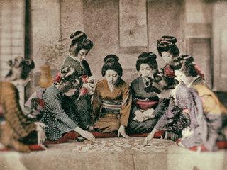 着色カラー写真でみる100年前の明治時代!!  西洋文化で華咲いたナウいNIPPON!