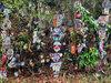 【栃木】無数の仮面で埋め尽くされた異形ハウス『仮面館』訪問記