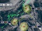 """【緊急警告】「トリプル台風」の後にM5以上の巨大地震が来る!? """"進路と震源地""""の関係を発見、前例多数!"""