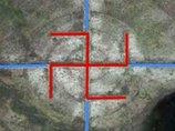 """「ロズウェル事件」の場所付近で超巨大な""""カギ十字""""の地上絵が発見される! ナチスとUFOの関係を示唆?"""