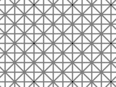 頭痛がする程脳が騙される 「絶対に同時には見えない12個の黒い点」
