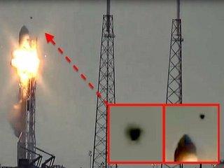 【衝撃映像】スペースXのロケット爆発にUFO関与か!? 攻撃される瞬間と、裏で渦巻く陰謀とは?