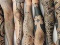 """未だ解明されない謎の""""縄文人タトゥー""""を現代に蘇らせるプロジェクトが美しすぎてカッコイイ!"""