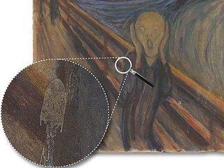"""ムンクの『叫び』最大の謎がついに解明! 専門家を120年悩ませてきた奇妙な""""白いシミ""""の正体と真意に驚愕"""