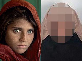 【悲報】逮捕された「アフガンの少女(ナショジオ)」の現在の姿に世界が衝撃! 32年間で別人のように超絶劣化していた!