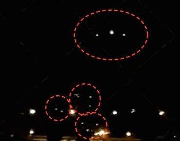 【動画】ジュネーブ上空に「三角形型UFO」が4機飛来、燃えるように飛び去る決定的瞬間! 専門家がドローン説否定!