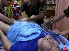い、い、痛い!! 強力磁石にアソコを挟まれた中国人男性、4時間後にレスキュー隊が無事救助
