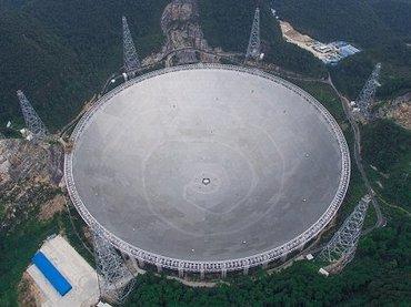 中国で世界最大(サッカー場30個分)の電波望遠鏡が完成! 素直にリスペクトできない理由とは?