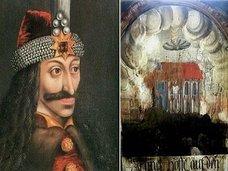 480年前のフレスコ画に「謎の円盤」が描かれていた! ドラキュラとの関連も浮上=ルーマニア
