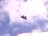 """【衝撃動画】低空を猛スピードで爆走する""""2人乗り""""UFO! 車載カメラが激撮、まるで空飛ぶ絨毯!"""