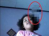 閲覧注意? 5歳少女の頭上に「ゾッとする」ほど怖い女の地縛霊が写り込む! まるで念写!=インドネシア