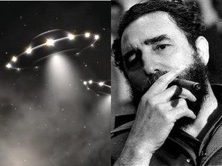 【カストロ前議長は生前に「UFO体験」を暴露していた! キューバ革命中に「光り輝く巨大円形UFO」に遭遇して…!