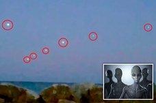 【動画】7機の「UFO隊列」が超・等間隔にミシガン湖上で出現! 専門家「断じてランタンではない」