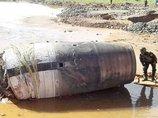ミャンマーに正体不明の巨大物体(5t)が落下! 中国の衛星か、エイリアンの宇宙船か!?  謎の刺激臭も…!