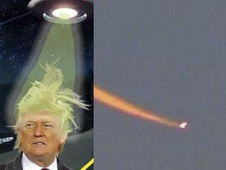 """天使?UFO? トランプ当選翌日、ホワイトハウス近郊に""""謎の火の玉""""が出現! 次期大統領を宇宙人が懸念か!?"""