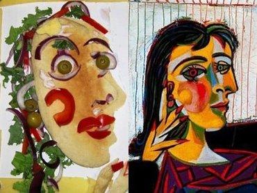 【食用芸術】サラダの盛り付けをアート作品にすると2倍美味しくなることが判明! カンディンスキーは激ウマ、ピカソは!?(最新研究)