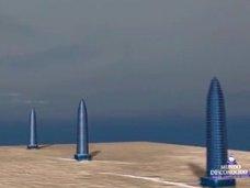 """【衝撃】火星で1,600m級の超巨大""""トリプルタワー""""が発見される! 人類移住時に基地として利用可能!?"""
