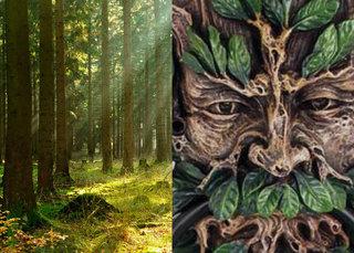 【森林の精霊「グリーンマン」と会った男 ― 葉っぱに覆われた妖精が現れたその時…