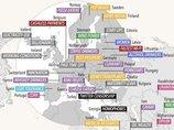 """世界169ヵ国の """"世界一""""を見渡せるマップ! ゲイポルノ検索件数No.1の意外な国も判明!"""