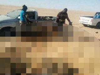 【【閲覧注意】サハラ砂漠を埋め尽くす難民のミイラ化遺体! 行き倒れ、干からび、砂に埋もれ… この世の地獄