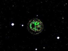 宇宙人による建造物「ダイソン球」の姿がグーグル・スカイで激写される!? 専門家「緑色の光は建設途中のエリア」