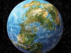 2億5千万年後の地球の姿が公開!超大陸「アメイジア」が誕生していた!