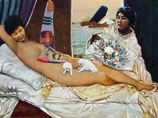 【現実は絵よりも奇なり? 国会議員会館に「朴槿恵の裸体画」展示で物議