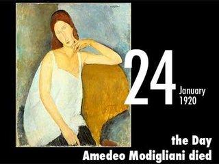 【1月24日は、画家モディリアーニが破滅した日 ― 欲望と酒と麻薬に溺れた壮絶人生