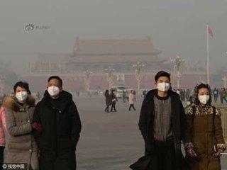"""【まるで国全体が""""スモークドチャイナ""""……中国・大気汚染「最悪レベル」を更新中!"""