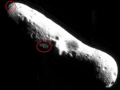 """衝突疑惑の小惑星""""エロス""""に謎のゲートと彫刻をNASAが激写! 専門家「エイリアン基地の可能性」"""