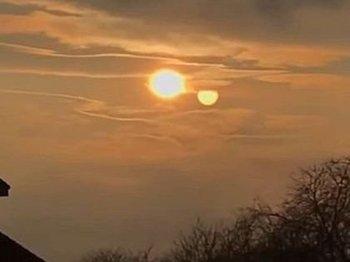 """【衝撃動画】膨張する""""第二の太陽""""がスロバキア上空に出現、目撃者多数! ニビルかUFOか、専門家を巻き込み大論争に"""