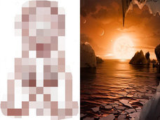 【NASA・TRAPPIST-1】「トラピスト宇宙人」の衝撃予想イメージを世界初公開! 世界的宇宙物理学者が徹底解説