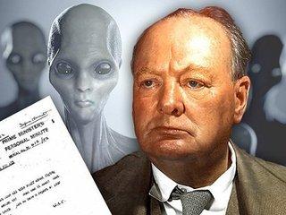 【ガチ】チャーチルが「宇宙人の存在」を確信していた証拠メモが発覚 !「火星と金星にいて…」