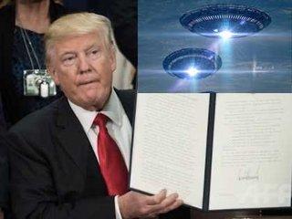 """【衝撃映像】「トランプの壁」建設のメキシコ国境に""""UFOカルテット""""が出現!大勢目撃で渋滞発生、謎の陰謀も…!!"""