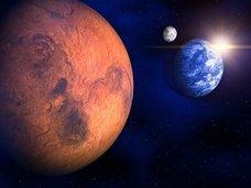 火星と恐竜はダークディスクによって同時に殺された