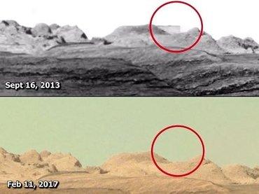 NASAが激写した「火星の巨大建造物」が消えているッ!?  存在抹消は「最悪の犯罪」との指摘も