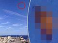 """前代未聞の""""空飛ぶ巨大クロワッサン""""が激写される! 海底基地から飛び出した新種UFOか!?=マルタ島"""