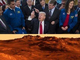 【【速報】トランプ「2033年までに火星に人を送る」法案に署名、NASAに総額195億ドル! 宇宙開発スピード急加速へ!
