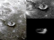 【衝撃】グーグルムーンで月面を移動する宇宙人基地が発見される! やはりUFOは月から地球にやって来ている可能性