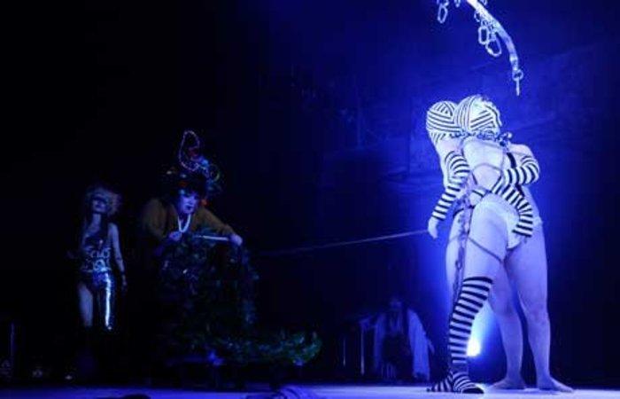 【R20】緊縛、絶叫、オネエ、切腹…! 「大人の見世物小屋」サディスティック・サーカスが日本にやって来る!