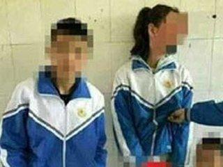 """【女子生徒の下半身に手を入れ、ハイポーズ! 中国で青少年の""""性の乱れ""""が深刻化"""