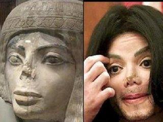 【【衝撃】古代エジプトの彫像にマイケル・ジャクソンを発見!! 中世では画家としても活躍、深まるタイムトラベラー疑惑!