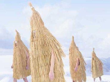 """フランス人写真家が撮った""""日本民族の異形な神々""""がキレキレでカッコよすぎる!シャルル・フレジェ写真集『YOKAI NO SHIMA』"""