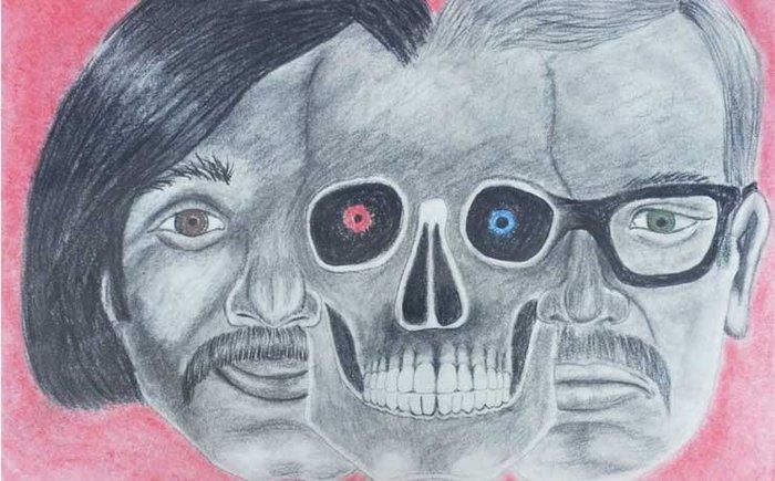 """【シリアルキラー展Ⅱ】人肉ハンバーガー、殺人ピエロ、マンソン…""""猟奇殺人鬼""""の芸術が鑑賞者に生々しく迫る!前回よりパワーアップ"""