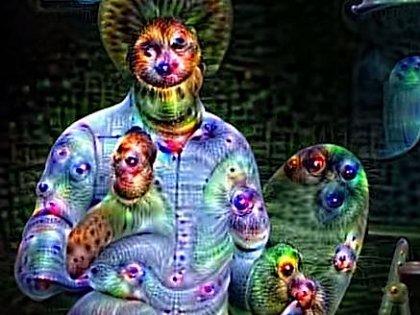 """AIに「人の顔」を描かせたら超絶ホラーな絵が完成! """"人工知能が見ている世界""""が悪夢だったことが判明!"""