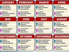 """誕生月でわかる""""かかりやすい病気""""に戦慄! 米有名大学がビッグデータ分析、ガンになりやすい人は何月生まれ!?"""