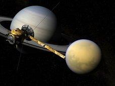 """【ガチ】土星の月・タイタンに人類3億人が居住可能であることが判明! しかし""""先住民""""の痕跡(原発跡)も…!(最新研究)"""