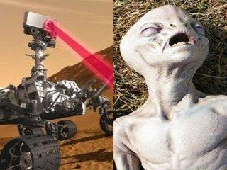 【キュリオシティが「火星のヒューマノイド」を殺害か!? NASAの異常行動に衝撃広がる